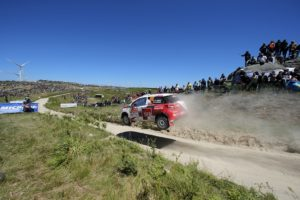 JWRC RALLY PORTUGAL  2015  - PHOTO : CITROEN RACING/AUSTRAL 60 Gilbert Quentin, Jamoul Renaud, DS3 R3T, Action