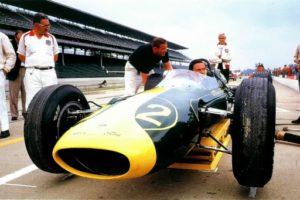 Jim Clark of Lotus at Indy