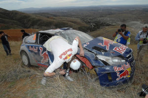 Kimi accident Mexico
