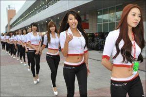 Grid Girls korea