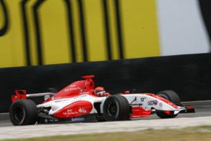 Alexander Rossi car shot Fortec Motorsport WSR 2011
